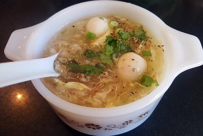 vietnamese crab soup in hanoi