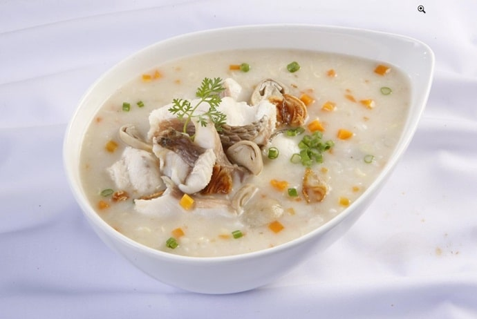 vietnamese fish porridge in southwest