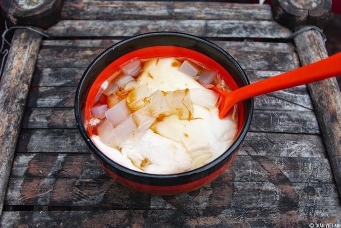 vietnamese soybean curd in hanoi