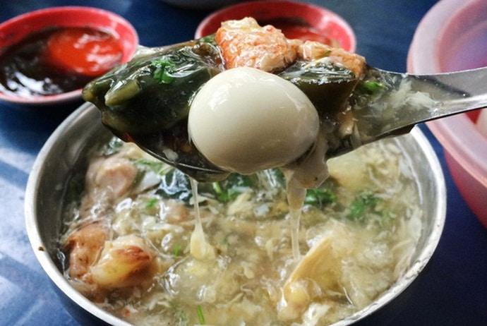 vietnamese crab soup - xoi ba thao