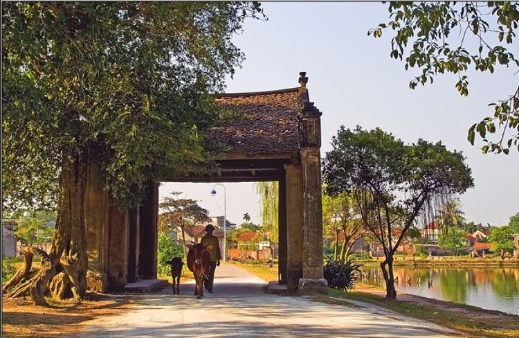 van lam village ninh binh vietnam