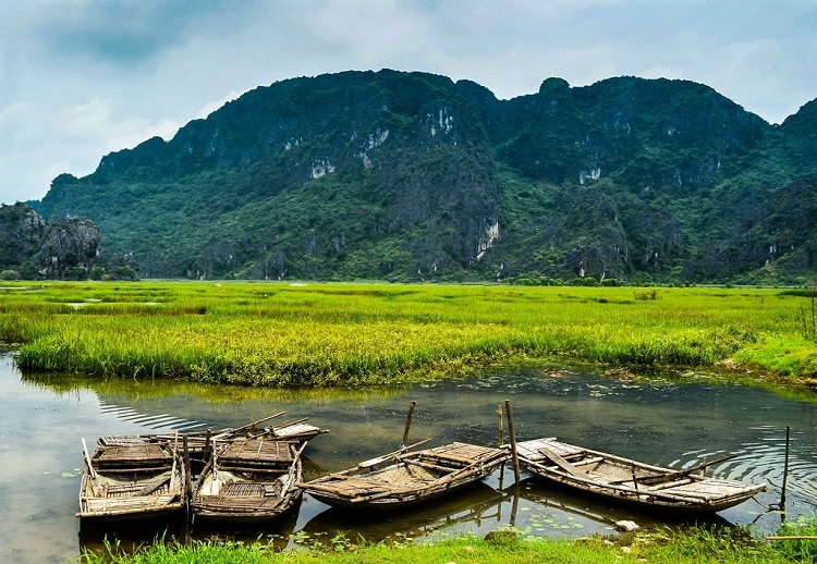 what to see in kenh ga floating village in ninh binh