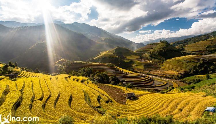 vietnam photos - yen bai in september photo