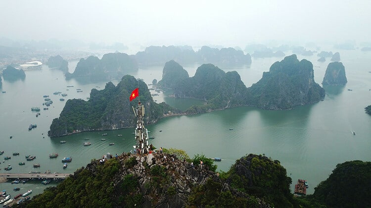 Bai Tho Mountain: Where To View The Panorama Of Ha Long, Vietnam On The Top