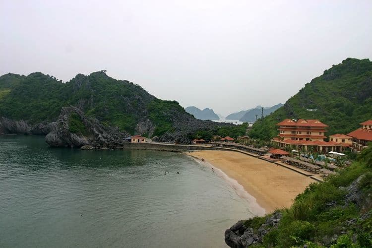 Cat Co Beach: Attractive Destination In Cat Ba Island, Hai Phong, Vietnam