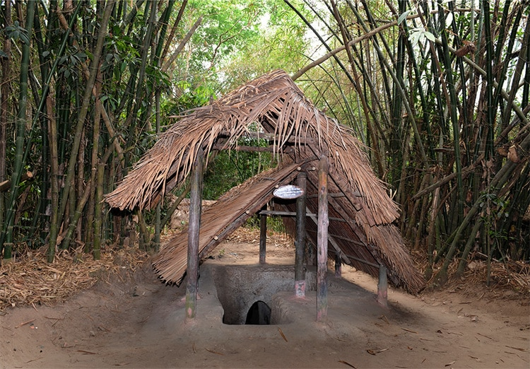vietnam photos - cu chi tunnels