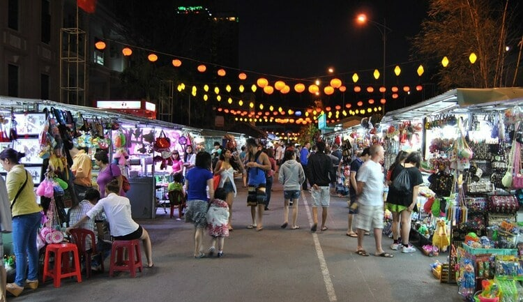 Nha Trang Night Market In Vietnam: Shopping And Strolling At Night