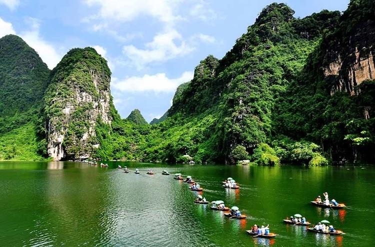 vietnam photos - trang an ecotourism complex