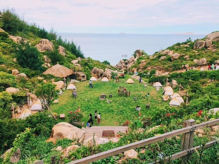 vietnam photos - trung luong camping site