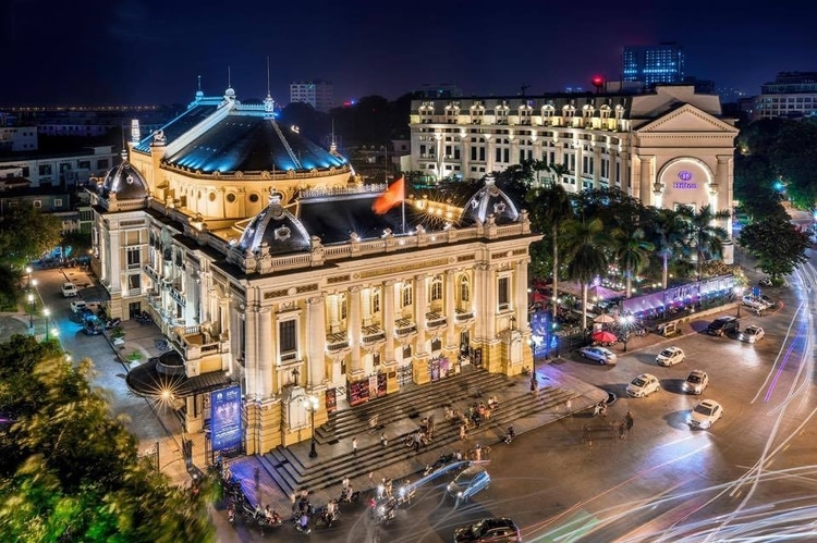 Hanoi Opera House: The Most Beautiful Theater Of Southeast Asia In Hanoi, Vietnam