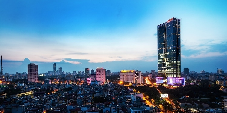 Lotte Center Hanoi – Large Shopping Mall In Hanoi, Vietnam