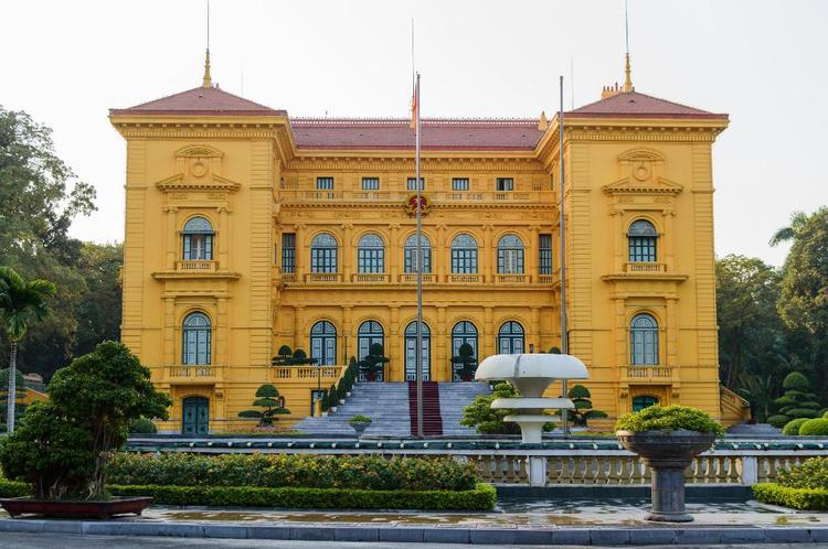 Presidential Palace Historical Site In Hanoi: An Important Relic In Vietnam