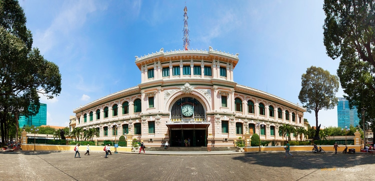 Saigon Central Post Office – A Particularly Impressive Tourist Site In Ho Chi Minh City, Vietnam