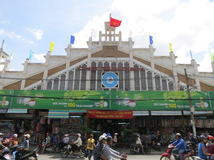 vietnam photos - markets in ho chi minh