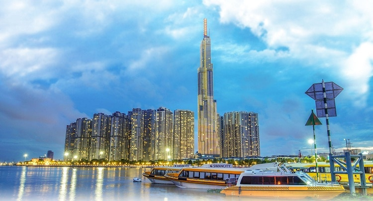 Vincom Center Landmark 81 In Ho Chi Minh: The Tallest Building In Vietnam