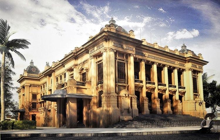 vietnam photos - hanoi opera house