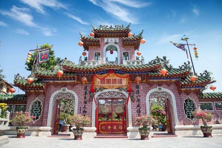 vietnam photos - chinese assembly halls in hoi an