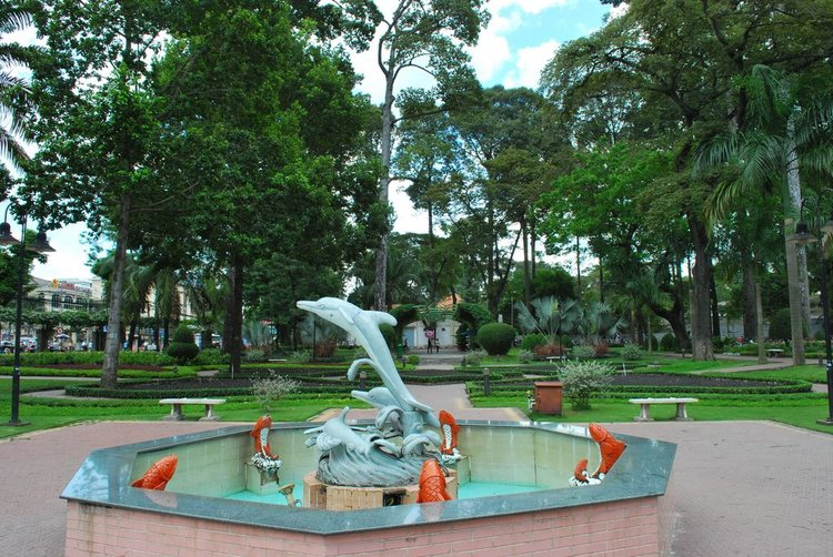 Tao Dan Park: The Green Lung Of Ho Chi Minh City, Vietnam