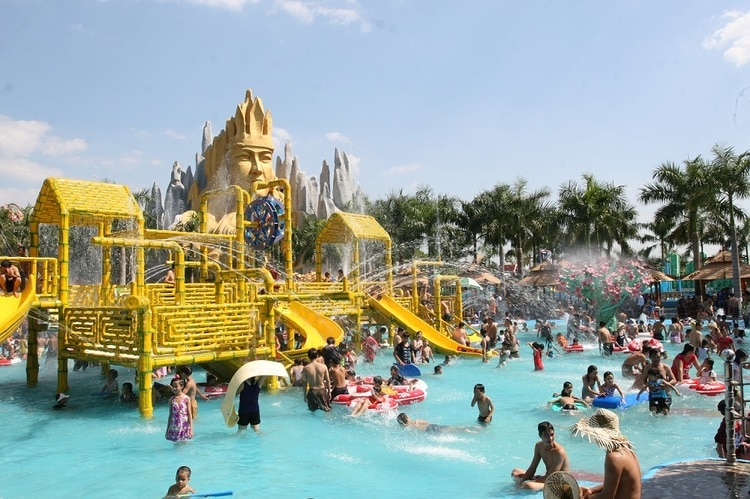 vietnam photos - suoi tien theme park