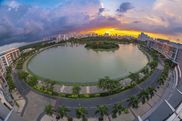 Crescent Lake Park – The Vibrant Place In Saigon