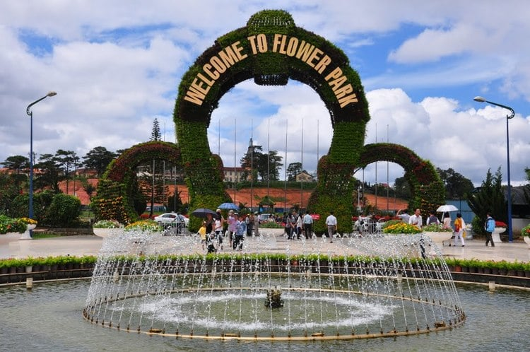 Dalat Flower Garden – A Beautiful Park Of Flowers In Da Lat, Vietnam