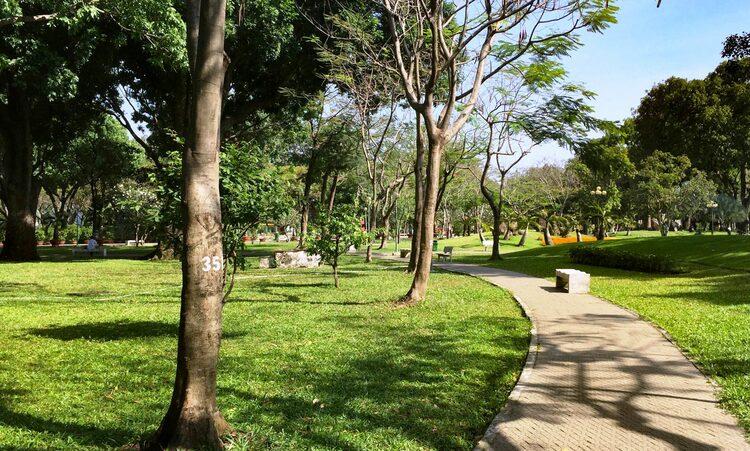 vietnam photos - gia dinh park
