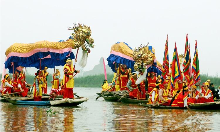 vietnam photos - trang an festival