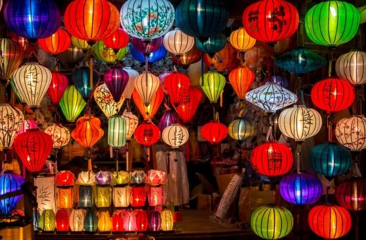 vietnam photos - hoi an lantern festival
