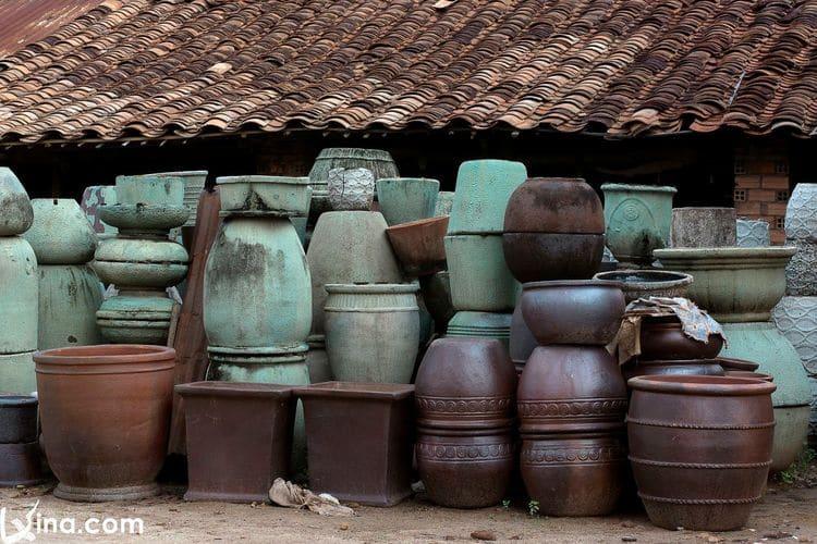 vietnam photos - tan van pottery village photos
