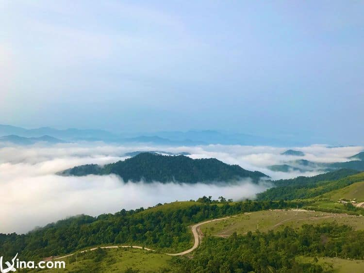 Dong Cao Plateau Photos In Bac Giang – A Great Place For Camping In Vietnam