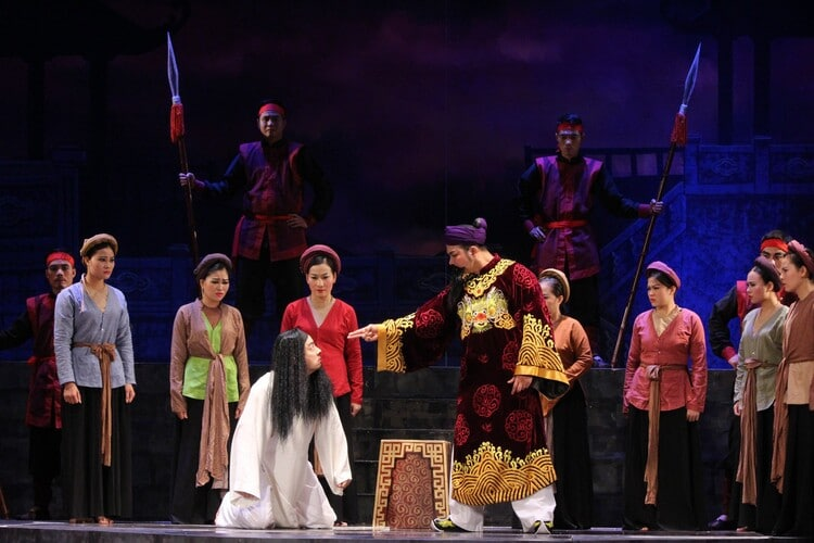 vietnam photos - hanoi cheo theatre