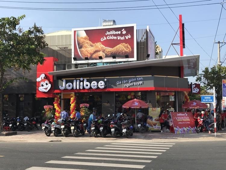 vietnam photos - fast food restaurants in hanoi