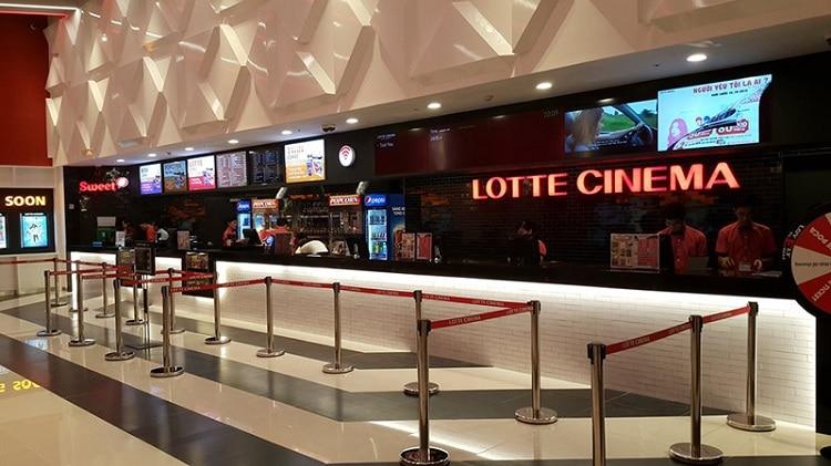 vietnam photos - cinema centers in hanoi