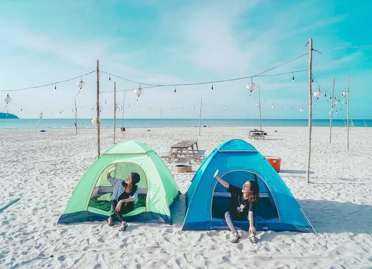 vietnam photos - canh duong beach