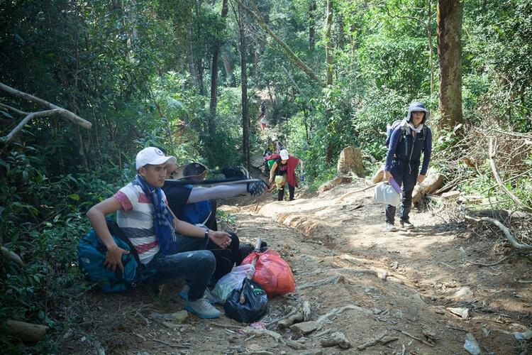 vietnam photos - ta nang-phan dung trekking paradise