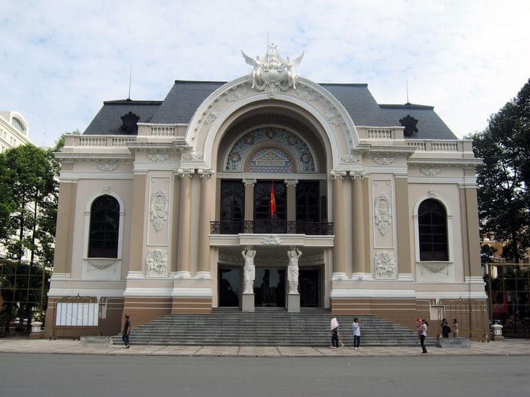 Saigon Opera House In Ho Chi Minh City, Vietnam