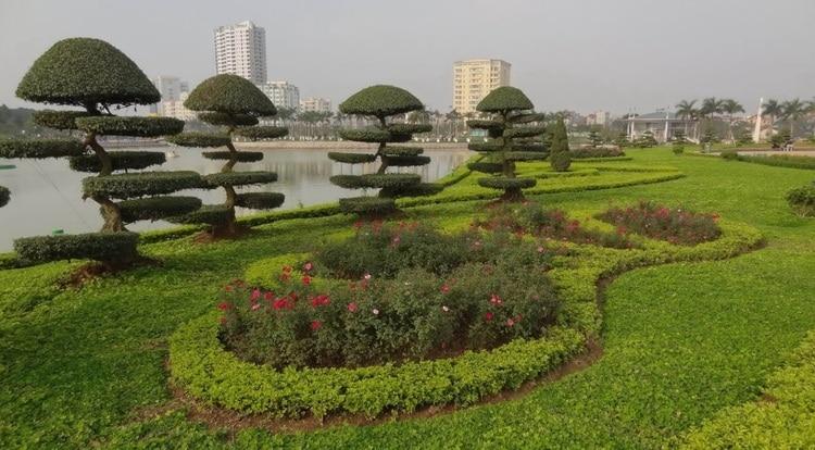 vietnam photos - hoa binh park