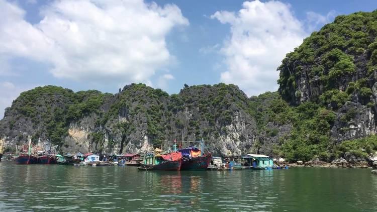vietnam photos - cai beo floating village