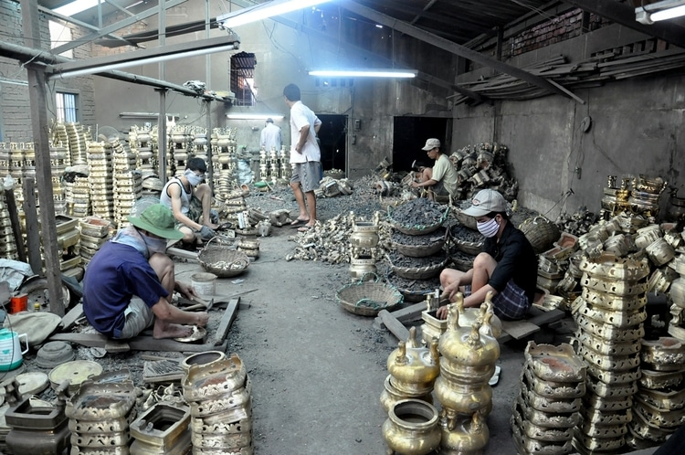 The History Of Copper Casting Villages In Phuong Duc Ward, Hue City, Vietnam