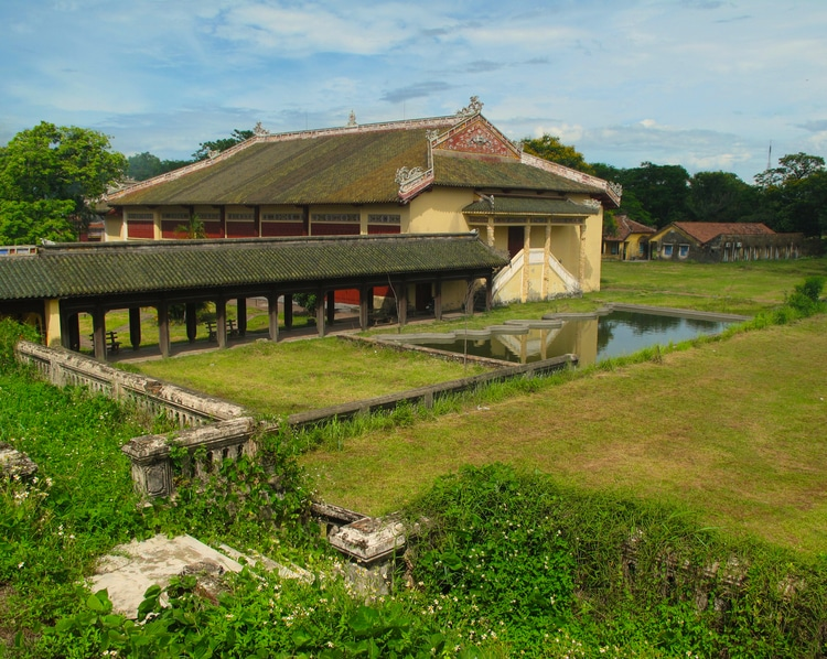Duyet Thi Duong: The Oldest Theater Of Vietnam In Hue Imperial Citadel