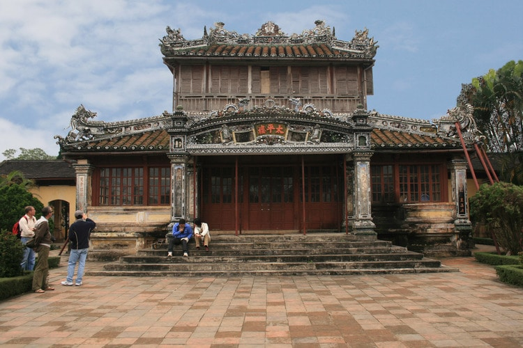 Forbidden Purple City: Huge Architecture In The Monument Complex Of Hue Imperial Citadel