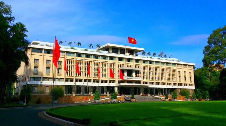 vietnam photos - independence palace