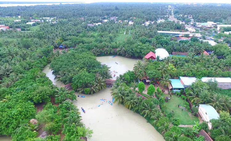 Lan Vuong Tourist Area – An Eco-tourism Resort In Ben Tre, Vietnam