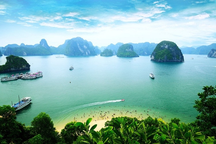 vietnam photos - ti top island