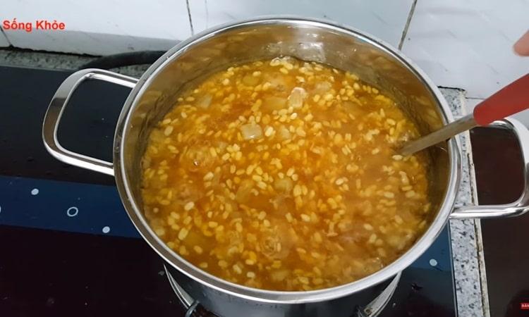 vietnam photos - grapefruit sweet soup
