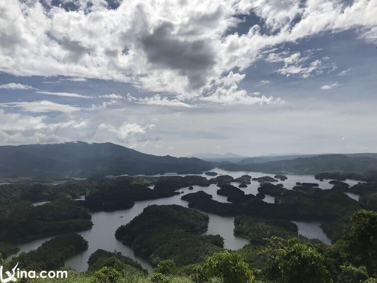 vietnam photos - ta dung lake photos