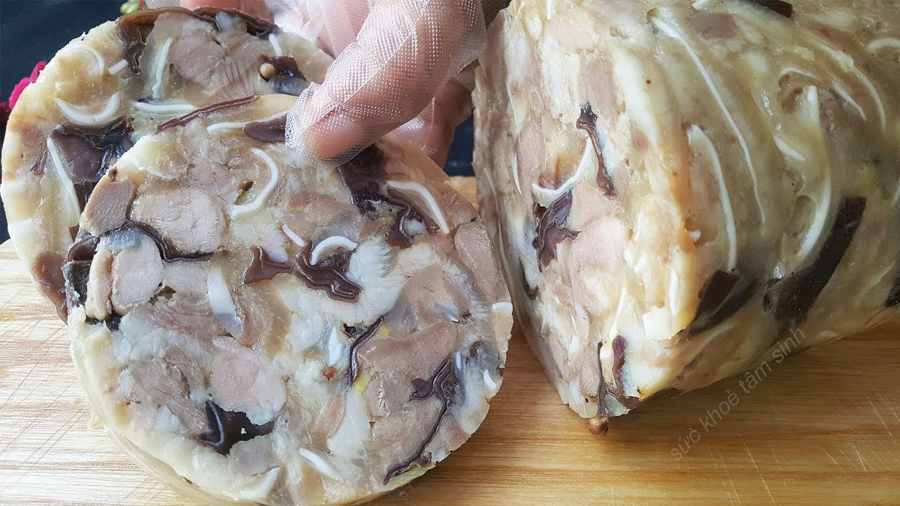 Delicious Vietnamese Head Cheese Recipe – How To Make It