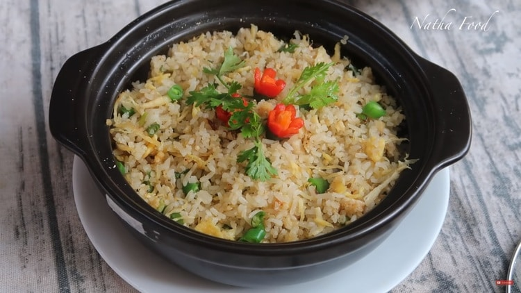 fried rice with salty fish recipe