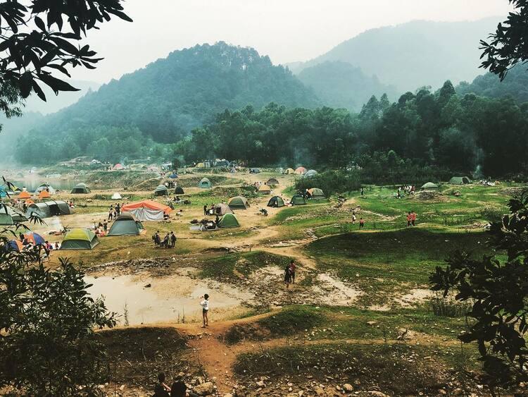 Ham Lon Mountain – Ideal Picnic Destination, Hanoi, Vietnam
