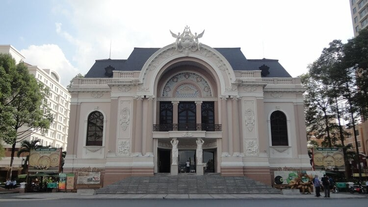 Ho Chi Minh Municipal Theater: French Colonial Architecture In Vietnam